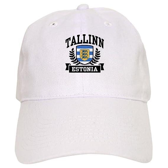 d7389ee05ccaf Amazon.com  CafePress - Tallinn Estonia - Baseball Cap with Adjustable  Closure
