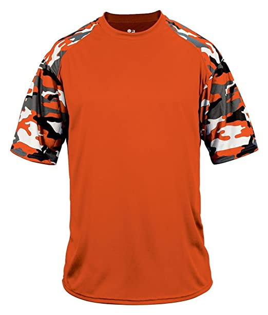 1b9ba287f Badger Performance Sublimated Camo Sport T-Shirt | Amazon.com