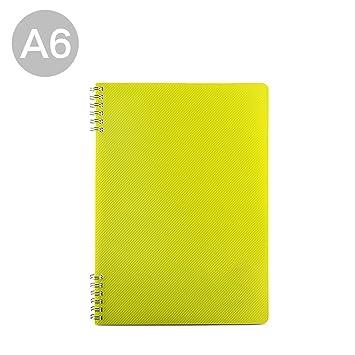 A5 Draht Gebundenes Buch Projekt Notebook mit Unterteiler, 14,5 x 21 ...