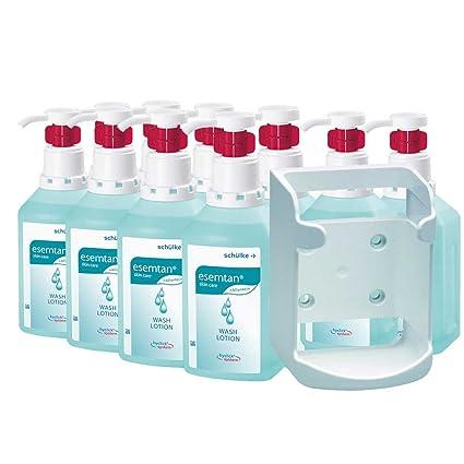 1 x schülke de Juego, 10 x 1000 ml esemtan® Wash Loción hyclick,