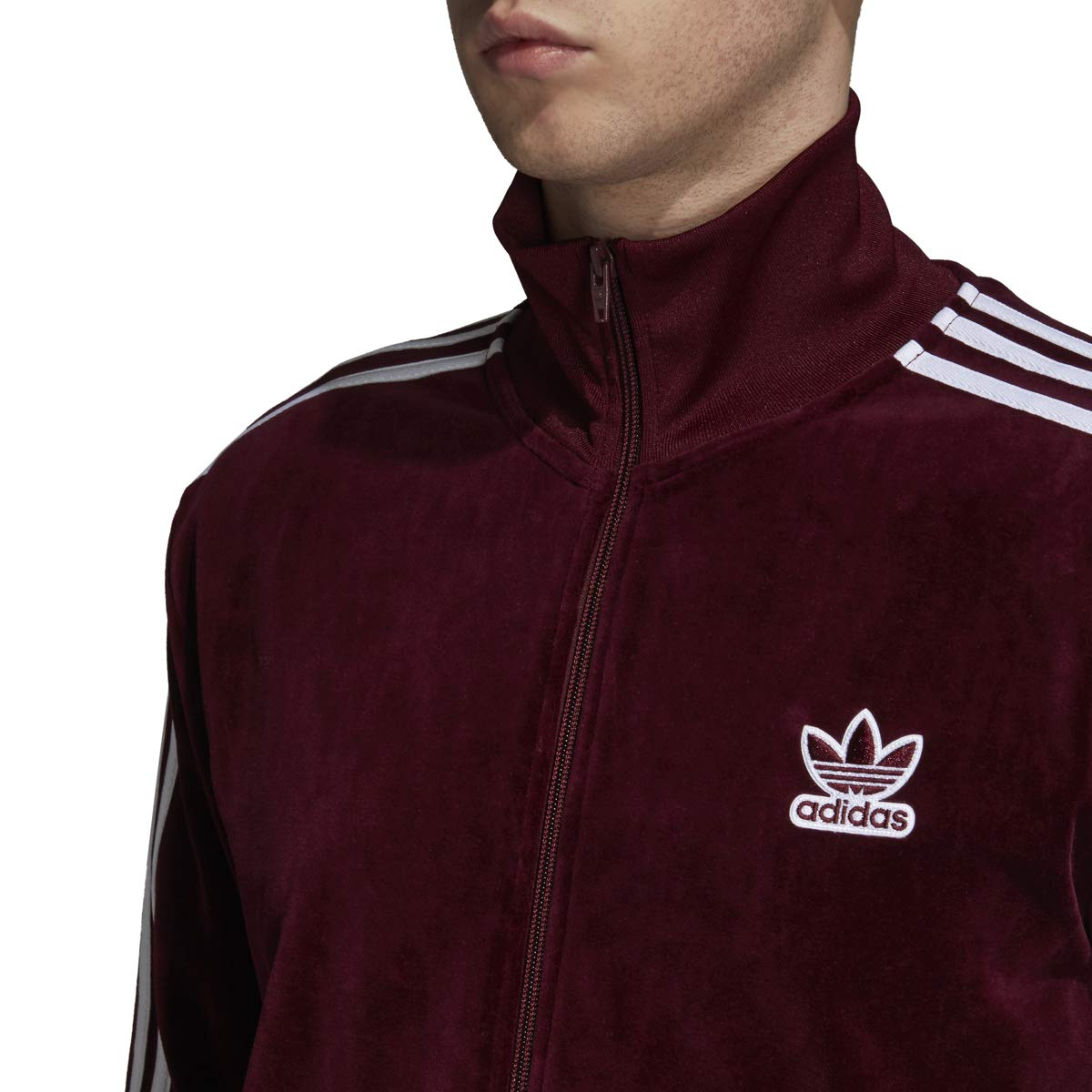 adidas Originals Mens Velour BB Track Top