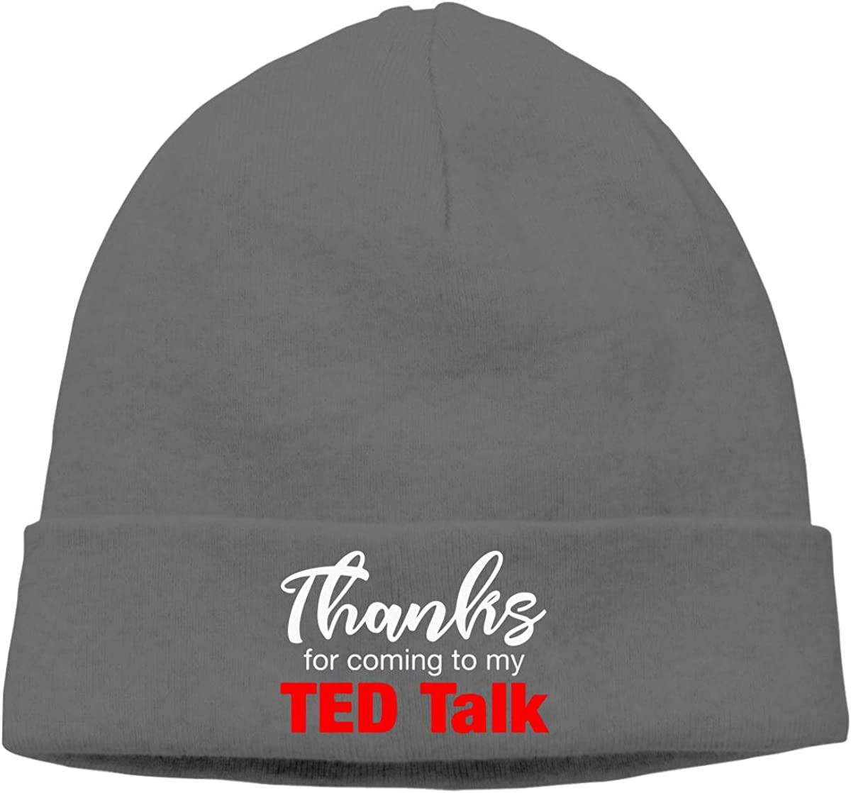 Thanks for Coming to My Ted Talk Men Women Beanie Hat Knitted Beanie Knit Beanie