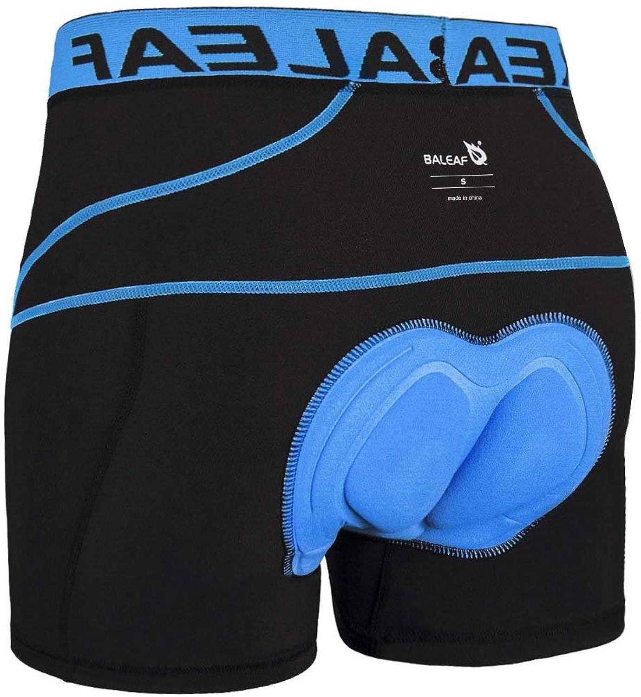 BALEAF Men's Bike Cycling Underwear Shorts 3D Padded Bicycle MTB Liner Shorts: Clothing