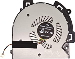 BAY Direct CPU Cooling Fan Replacement(4-Pin) for HP M6-AR M6-AR004DX M6-AQ003dx M6-AQ005dx M6-AQ004DX M6-AQ103DX M6-AQ105DX Compatible Part Number: 856277-001