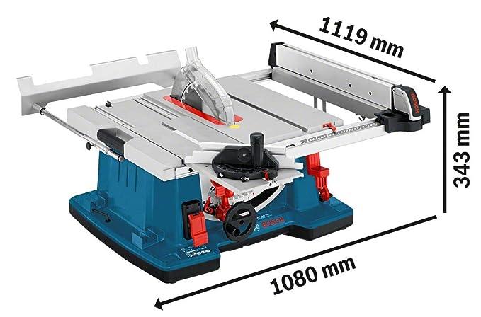Test Bosch Tischkreissäge GTS 10 XC
