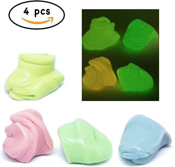Plastilina Saltarina Luminiscente - Glow Jummpy Putty - Brilla en ...