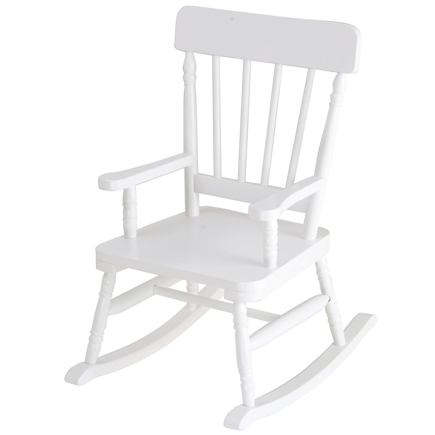Emerson White Rocking Chair
