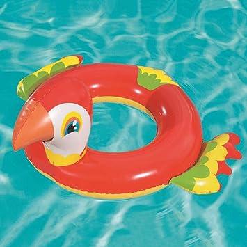 FBEST Loro Flotadores para Niños Hinchable Anillo de Natación Flotador para bebé Barco Inflable Flotador Piscinas Juguetes para de Natación en para Niños: Amazon.es: Deportes y aire libre