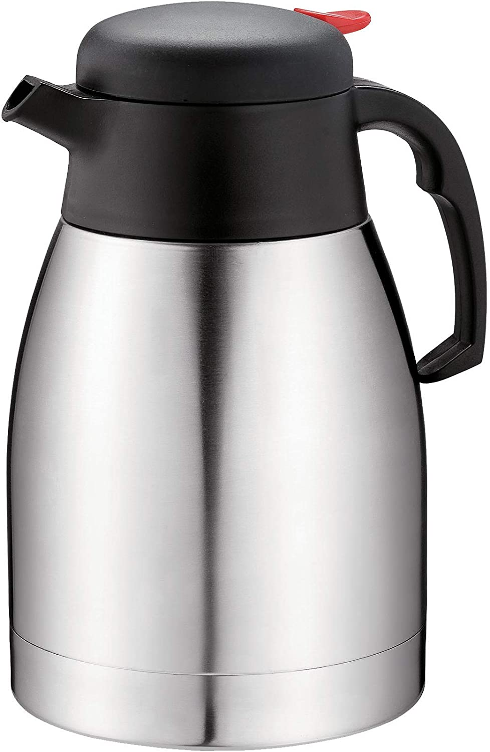 Ricovero Premium Double Wall vacuum sealed insulated Thermal Jug/ideal for Coffee, Tea, Milk with 1.2 Liters (41 fl. Oz) Capacity keeps liquids hot or cold