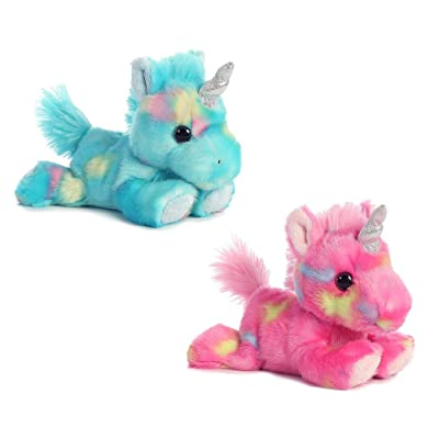"Aurora 7"" Jellyroll Unicorn & Blueberry Ripple Unicorn Bundle: Toys & Games"