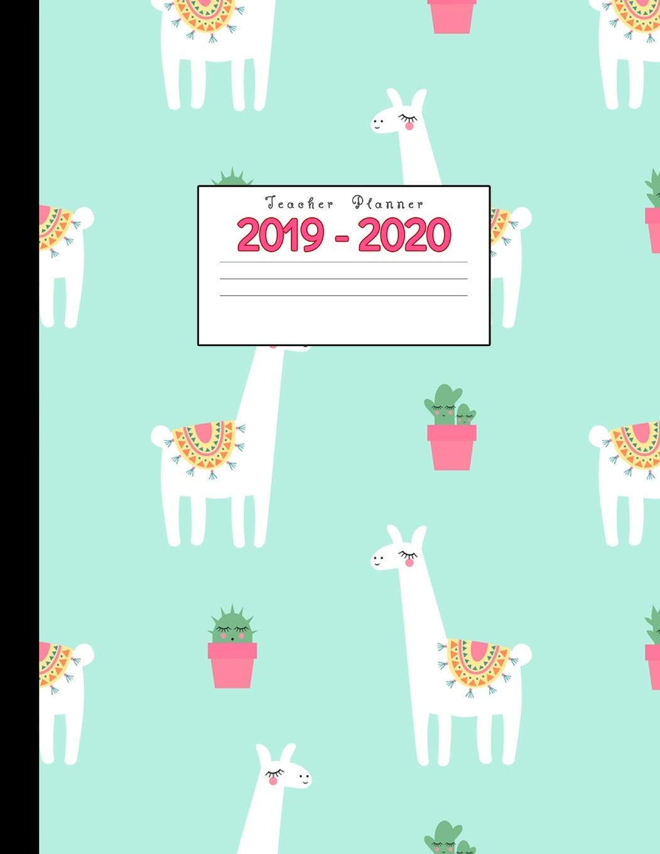 Lfl Schedule 2020 Teacher Planner 2019 2020: Academic Planners Calendar Daily