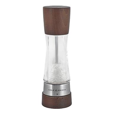 Cole & Mason H594292GU Gourmet Precision Derwent Forest Wood Salt Mill, medium,