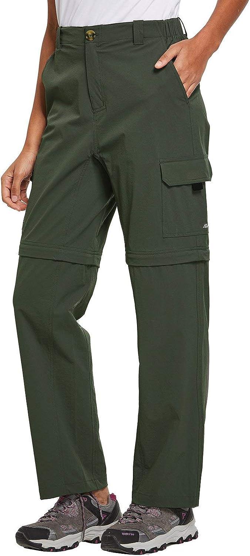BALEAF Kids Convertible Pants Multi Cargo Pocket Lightweight Outdoor Pants