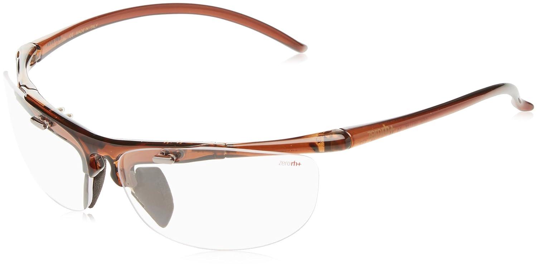 R/H Lux A. Fit, Sonnenbrille Unisex Erwachsene, unisex - erwachsene, Lux A.Fit, Crystal Brown Clear