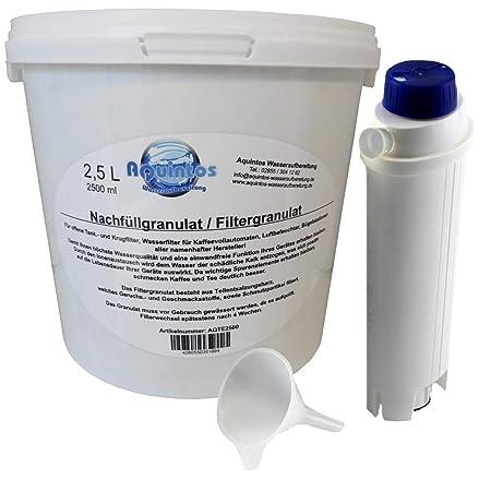 Tinta de repuesto - Juego de filtro de agua Original DeLonghi ...