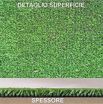CASA TESSILE Prato Sintetico in Rotolo Alto 2 mt 5 Metri