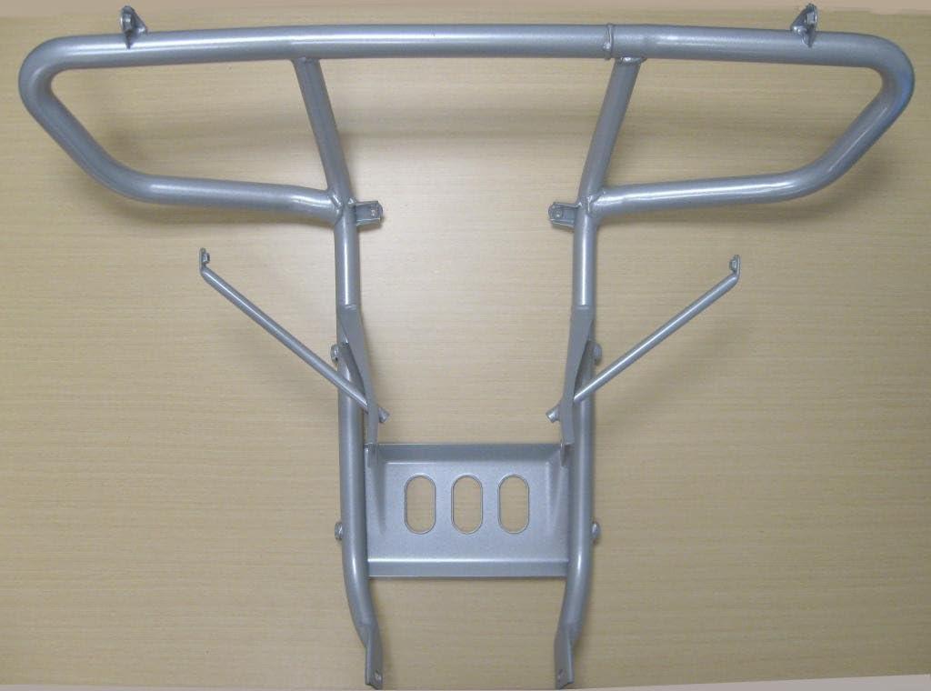 New 2005-2011 Honda TRX 500 TRX500 Foreman ATV Front Bumper /& Bumper Guards Silver