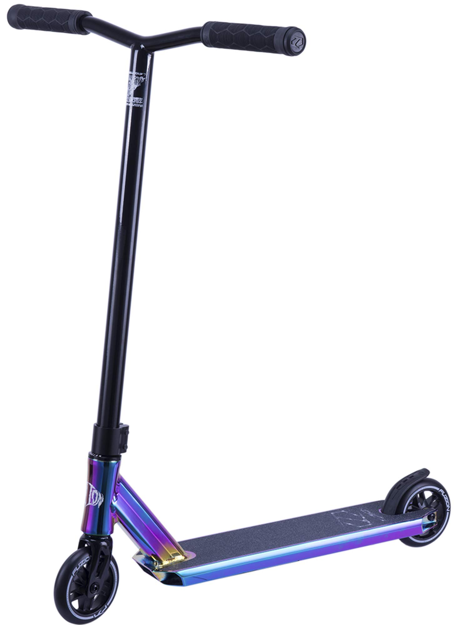 Fuzion Z250 Pro Scooters - Trick Scooter - Intermediate and Beginner Stunt Scooters for Kids 8 Years & Up, Teens and Adults – Durable Freestyle Kick Scooter for Boys and Girls (2019 Arach-Neo Phobia)