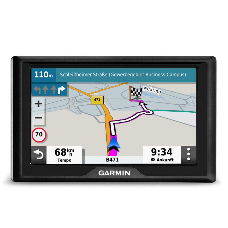 Schermo Touch 5.5 Garmin DriveSmart 55 EU LMT-D Navigatore Auto con Mappa Europa 3D Infotraffico Digital DAB e Servizi Live via Smartphone Vivavoce