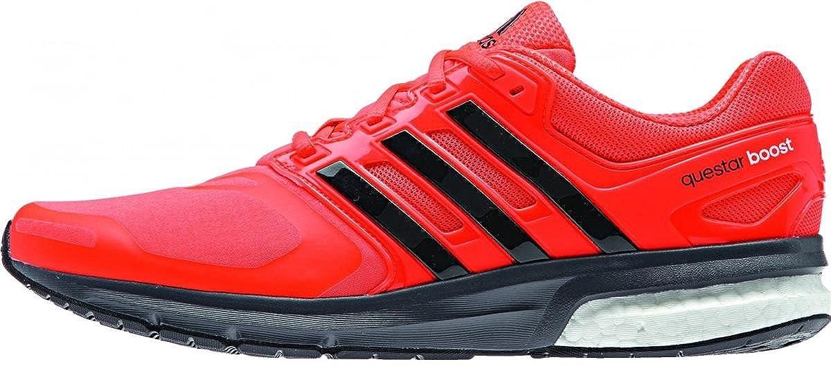 Adidas Questar Boost tf m Solrot cschwarz Granit Größe 9.5