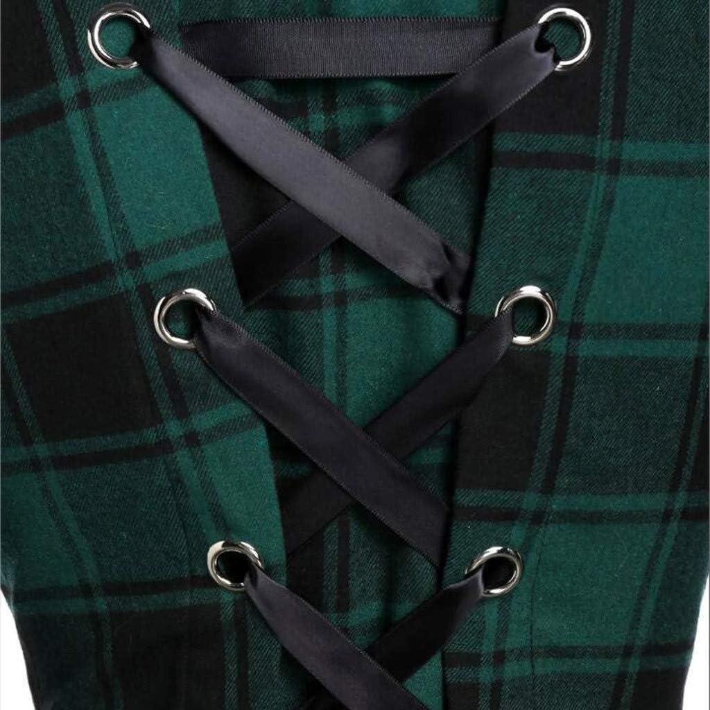Meikosks Ladies Plush Hoodies Winter Warm Coat Plaid Printed Pullover Button Asymmetric Long Top