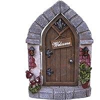 Benvenuti a casa, porta elfi con multicolori figurine benvenuti - Fantasia - Nemesis Now