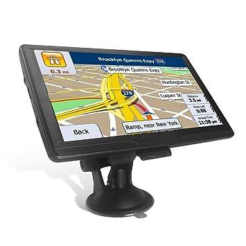 Navegación GPS para Coche con Pantalla táctil de 7 Pulgadas, 8 G, Incluye mapas más recientes del Reino Unido y la UE y actualizaciones de por Vida: ...