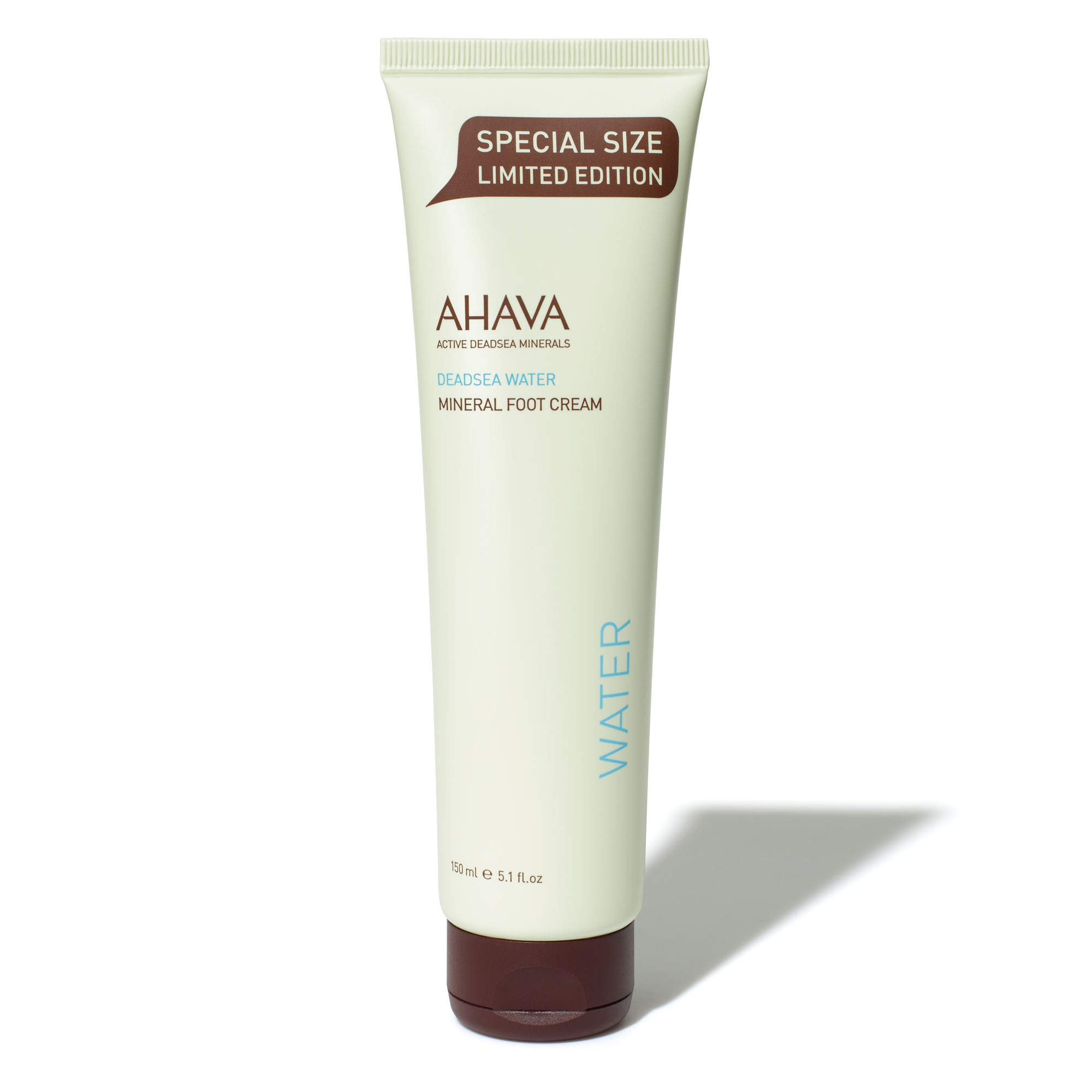 AHAVA Mineral Foot Cream, 5.1 Fl Oz