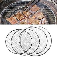 Manyo Jetable BBQ Grille de Barbecue Panier Fil de Treillis Métallique Viande Poisson Légume Barbecue Outil