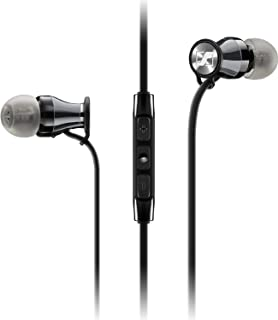 ca7097627bf Sennheiser Momentum In-Ear Headphones (Black/Chrome) for Samsung Galaxy and  Android