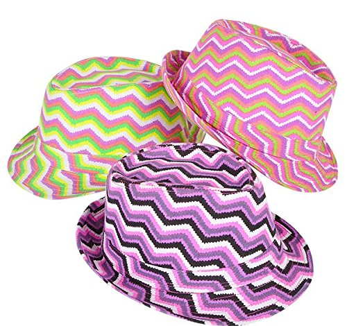 CHEVRON PATTEN FEDORA, Case of 72 by DollarItemDirect