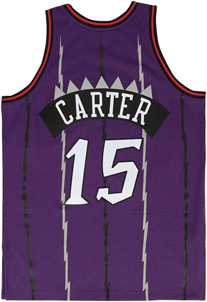 Youth Carter Jersey 15 Kids Vince Basketball Athletics Retro