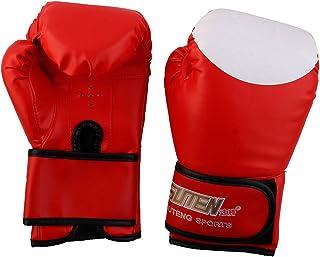 Sourcingmap® Suteng agréé Adulte PU Gants de Sparring Sac de Frappe Kickboxing Paire de Gants de Boxe a17062800ux0404