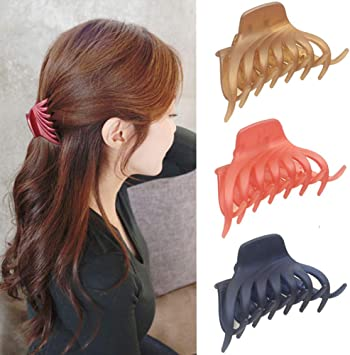 Hair Claw Clip Women Butterfly Clamp Clips Mini Salon Strong Gripper Nice