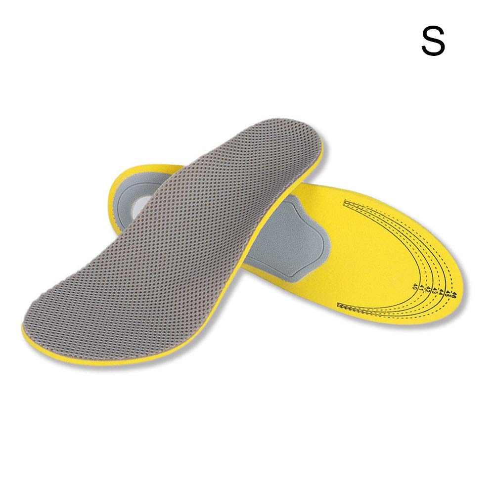 Shoe Pads,Orthopedic Insoles 3D Flat Foot Orthotic Arch Support Insoles High Arch Shoe Pads