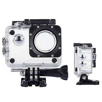 tekcam profesional SJ4000 WIFI impermeable caso caja de protección para AKASO ek7000/apeman/victure/odrvm 4 K impermeable Deporte Cámara de acción