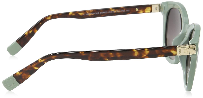 Furla SU4933-gafas de sol Mujer Beige Beige (SHINY SAGE ...