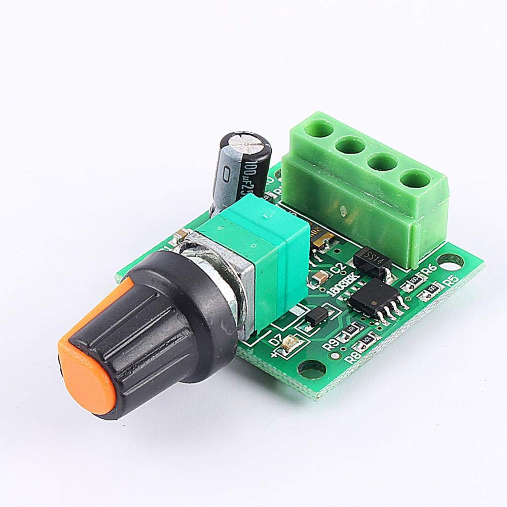 PWM DC Motor Speed Controller New DC 1.8V-15V Wide Voltage 2A PWM Pulse with Speed Motor Controller Switch
