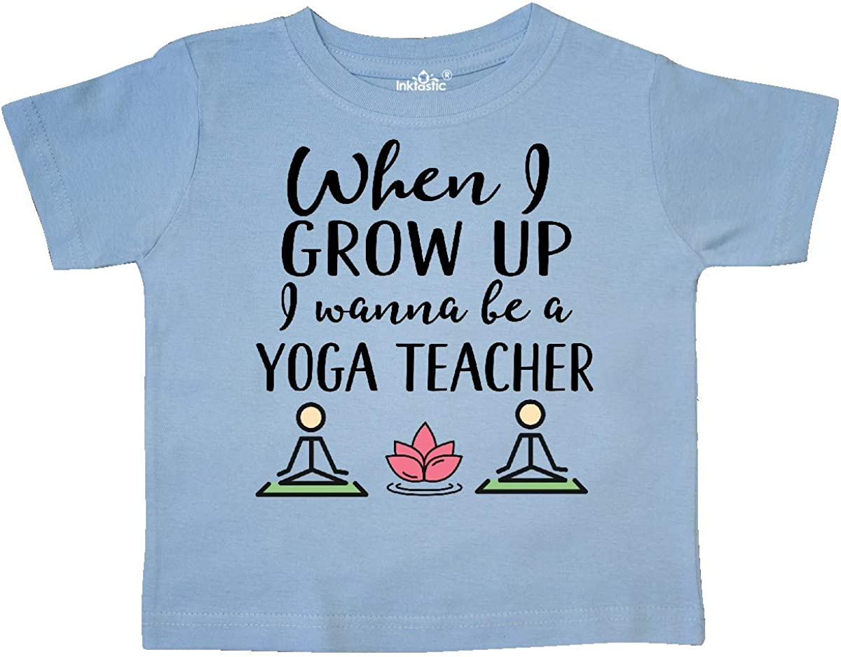 inktastic Future Yoga Teacher Instructor Toddler T-Shirt