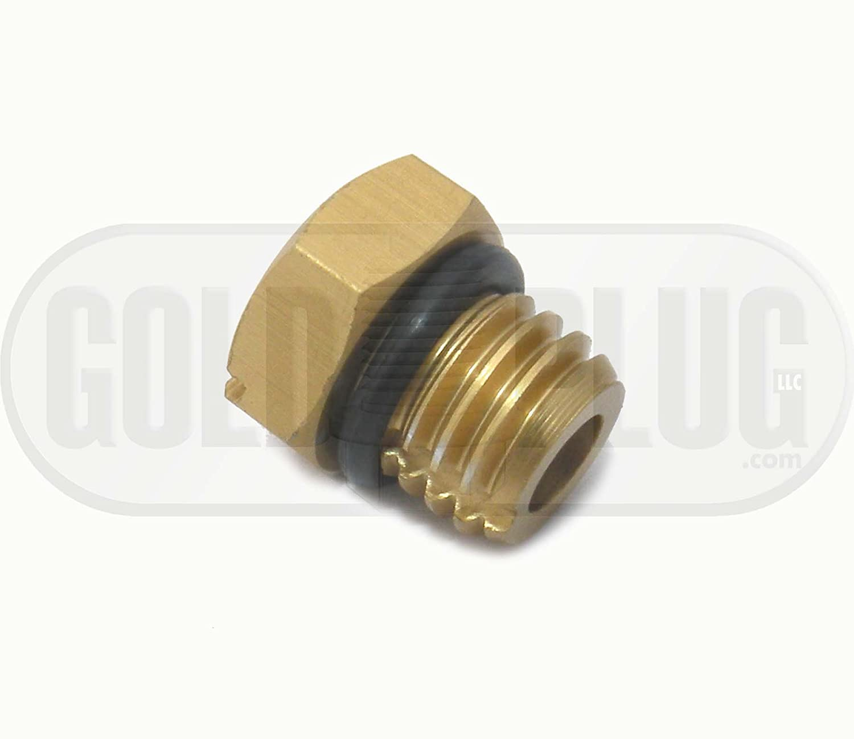 Amazon.com: Gold Plug 8200 Billet Air Bleeder Screw for 2001-2016 GM Duramax  Fuel Filter Housing: Automotive