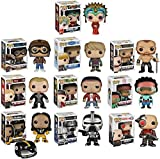 """Funko POP Exclusive Mystery Starter Pack Set of 10 """"Includes 10 Random Funko POPS Will Vary and No Duplicates"""". Includes: 10 random style funko pops. The assortment will range and vary from these titles : movies , cartoons , sports , t.v. sho..."""