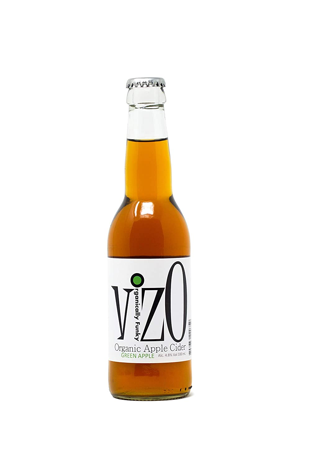 VizO Organic Sparkling Apple Cider Green Apple