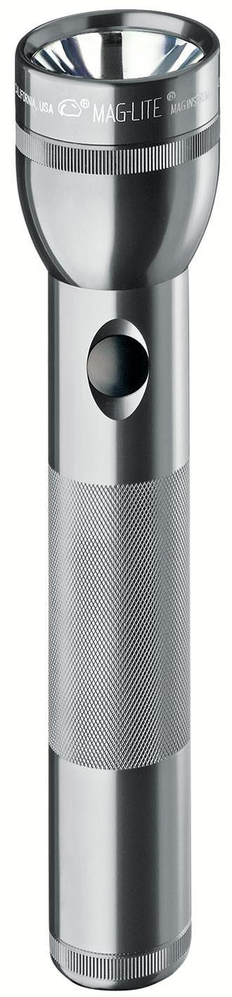 Linterna Maglite : LED 2-Celdas D en Display Box Gris