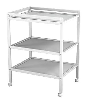 Étagères Langer Roulettes T4 Table Ateliers Blanc À Laqué Avec 2 pVSUzGqM
