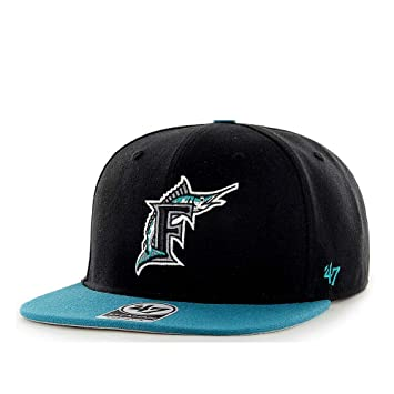 47 Brand Florida Marlins No Shot Captain - Gorra MLB, Grün,Schwarz ...