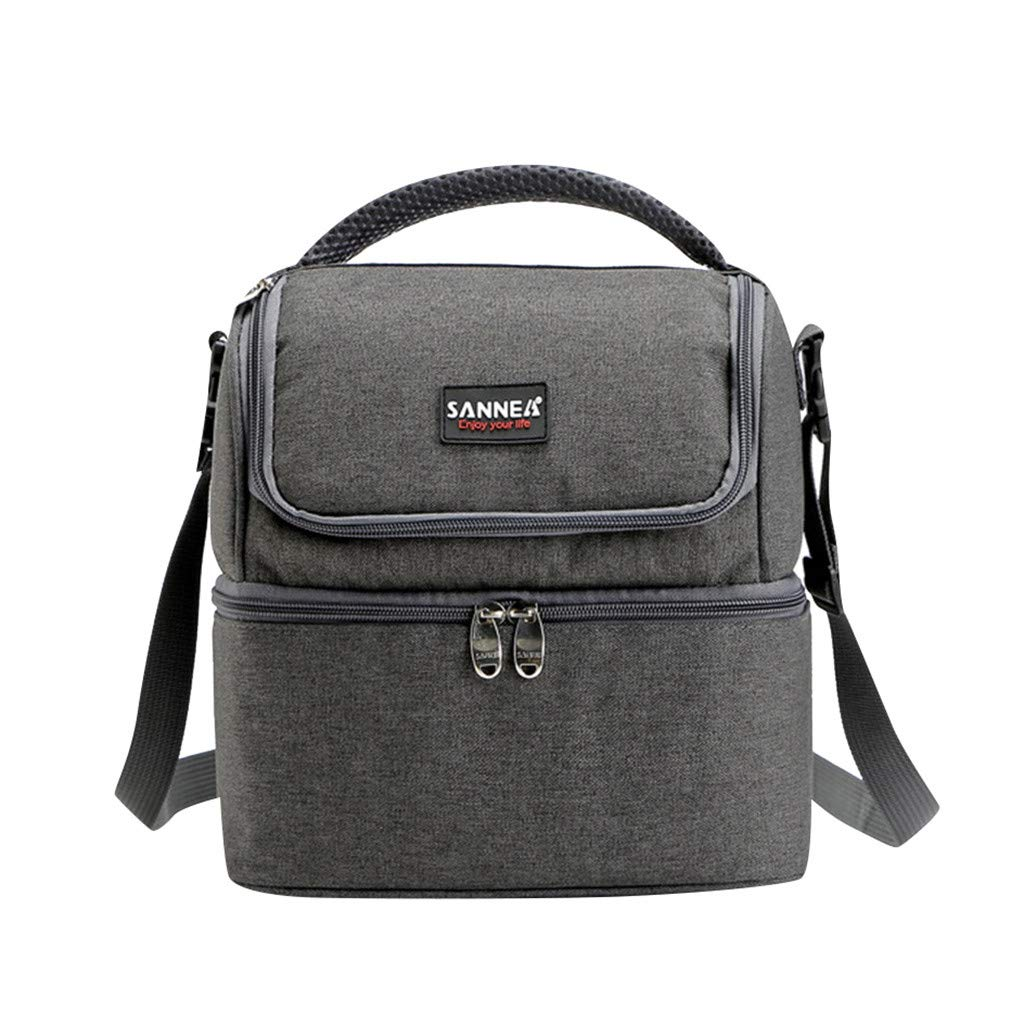 20c09c52a132 Amazon.com: Ouniman Large Capacity Lunch Cooler Bag,Adjustable ...