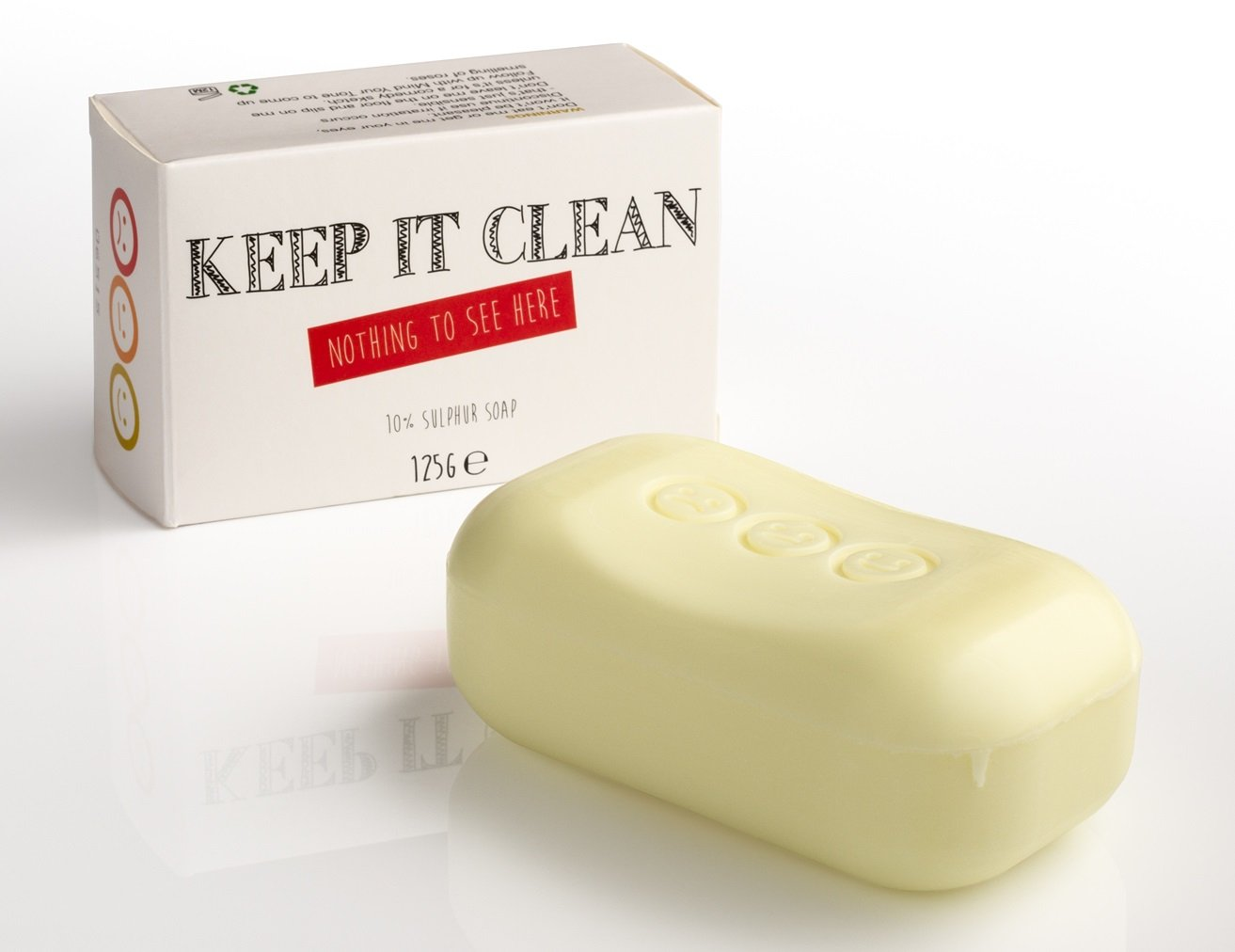 Keep it Clean - 10% Sulphur Soap - whytheface HealthCentre