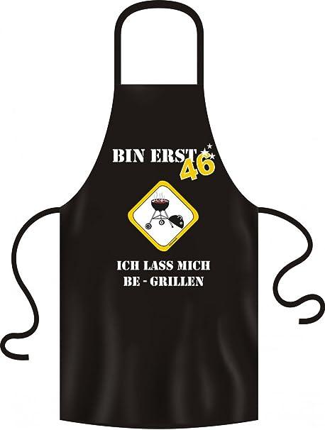 Lustige Grillschürze Bin Erst 46 Schurz Kittel Grillen Bbq
