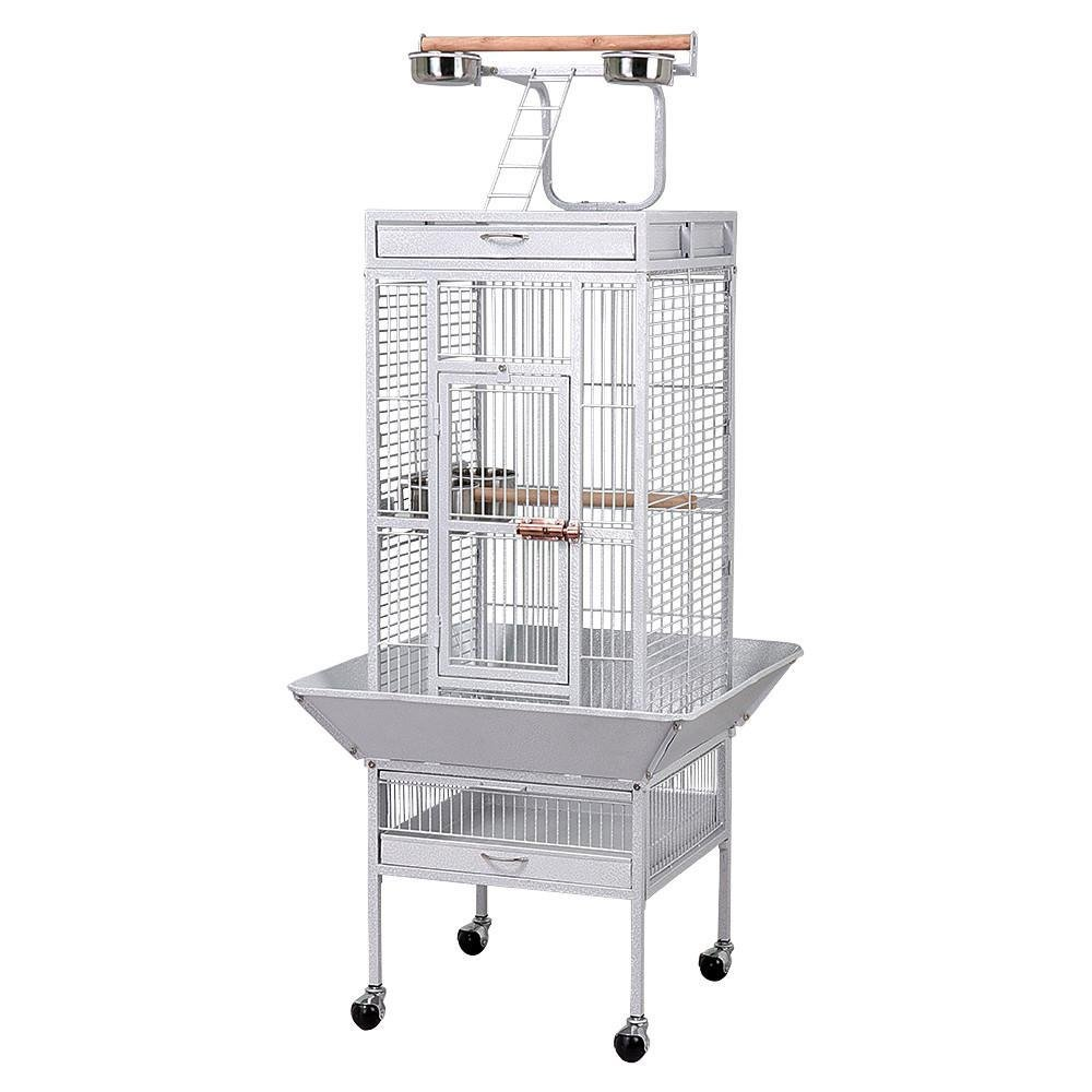go2buy Wrought Iron Select Bird Cage Parrot Cockatoo Birdcage Stands by go2buy
