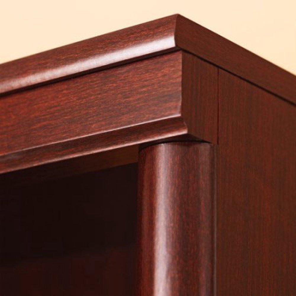 Amazon.com: Sauder 410890 Ashwood Road Bookcase, Select Cherry ...